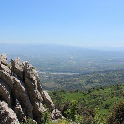 Voorvertoning Bergtop met uitzicht