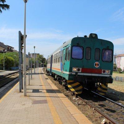 Voorvertoning Trein in Corigliano Scalo