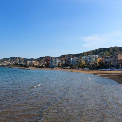 Voorvertoning Centrum van Crotone aan de zee