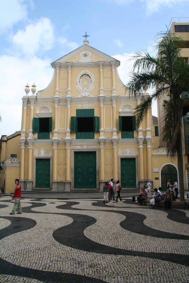 Church at the plaza