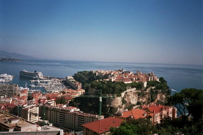 uitzicht op monaco stad