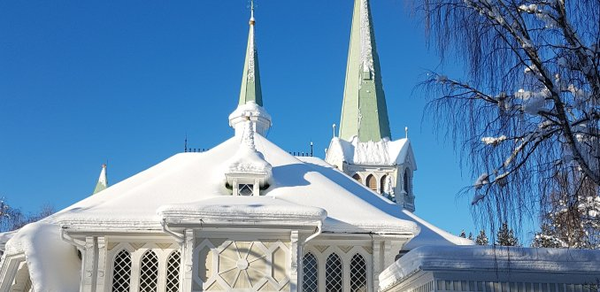 kerk in Jokkmokk