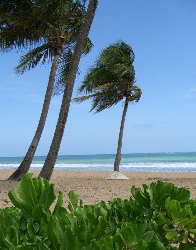 Strand op Puerto Rico