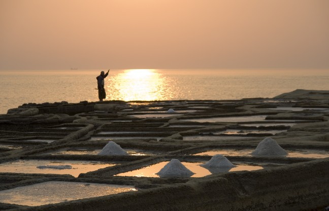 Gozo - zoutpannen