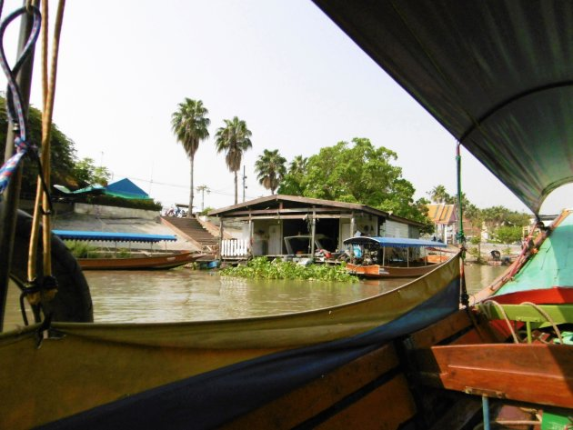 longtailboat rond Ayutthaya