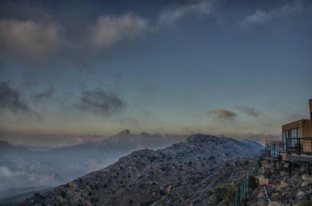 Wakker worden in de bergen van Oman