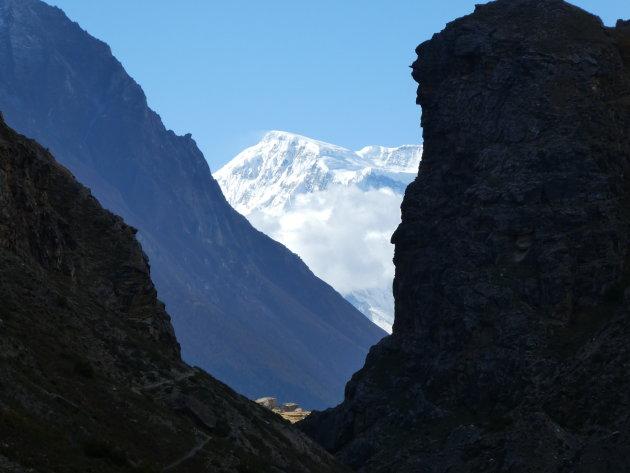 Doorkijken tot de Annapurna