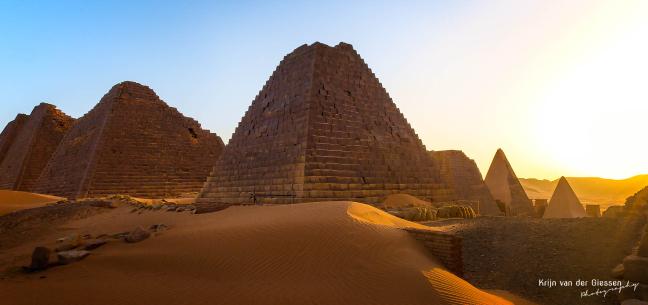 Piramides... in Soedan