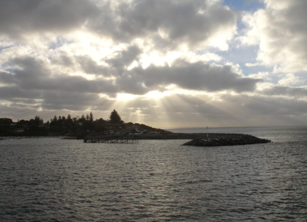 sunset naar Kangaroo Island