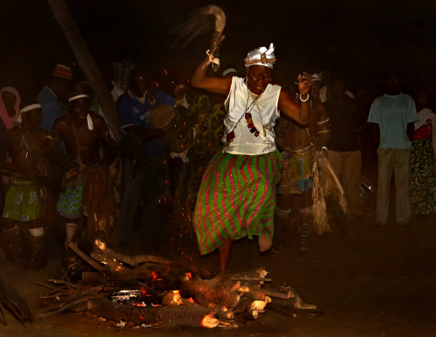 Vurige dans in Togo