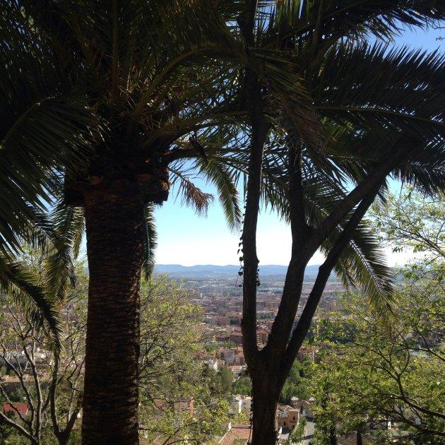Het niet toeristische Alhambra