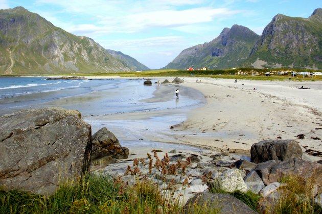 Parelwitte stranden