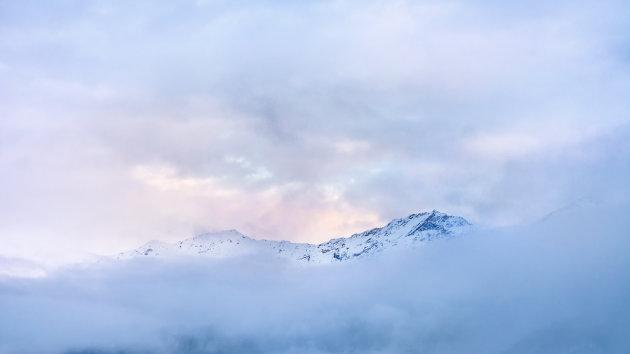 Mysterieuze bergtop