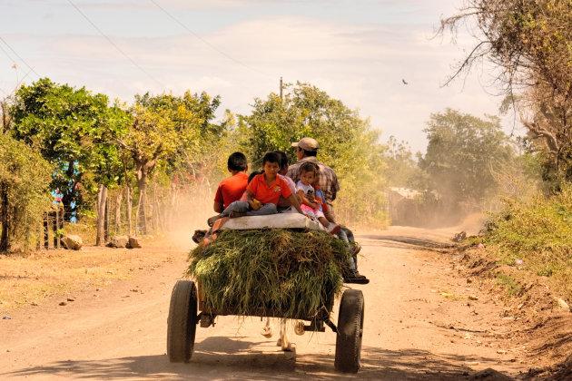"""vaak """"het"""" vervoer in Nicaragua"""
