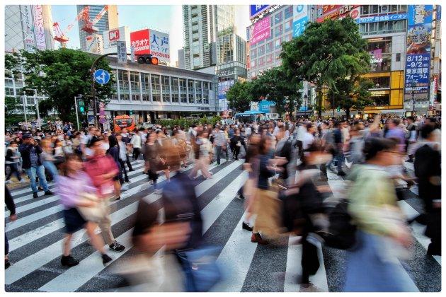 Tokyo - Shibuya Crossing