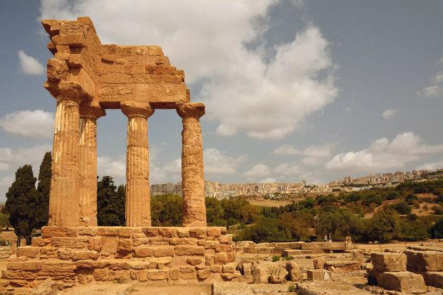Tempel van de Dioscuren