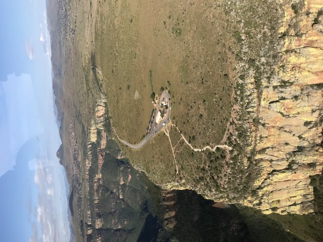 Helicopter flight - Blyde River Canyon