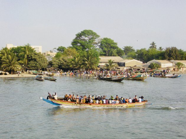 Banjul naar Barra