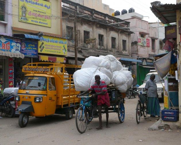 Echt Indiaas Straatbeeld
