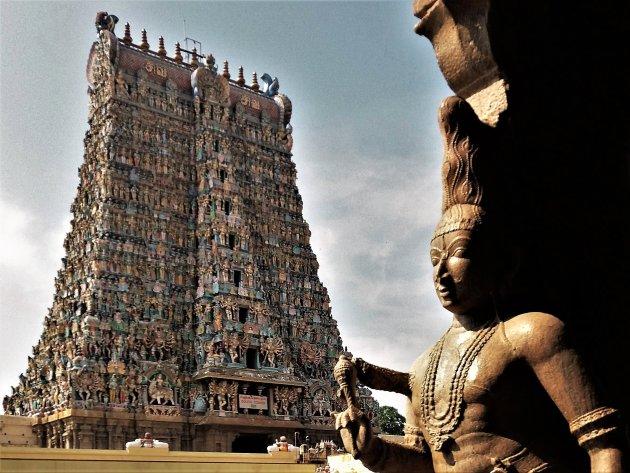 de Sri Meenakshi Tempel