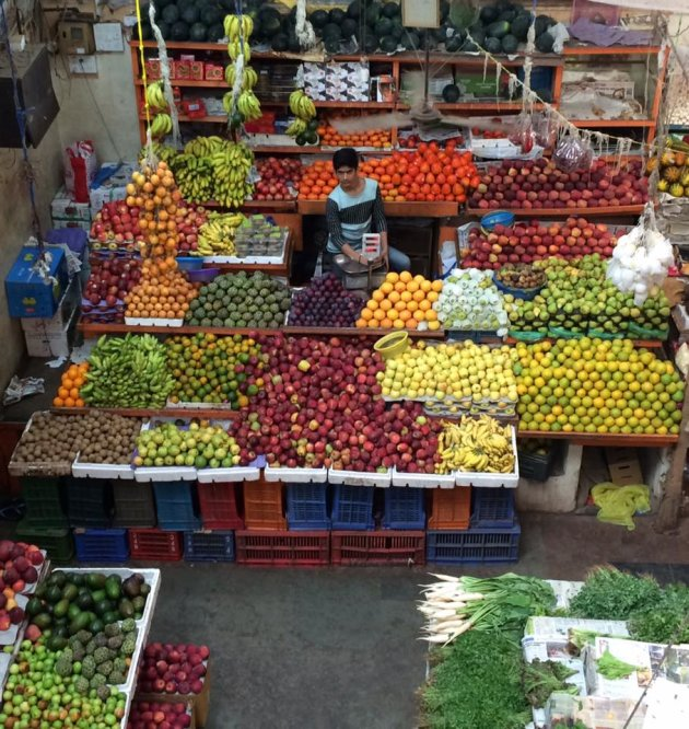 Kleurig fruit