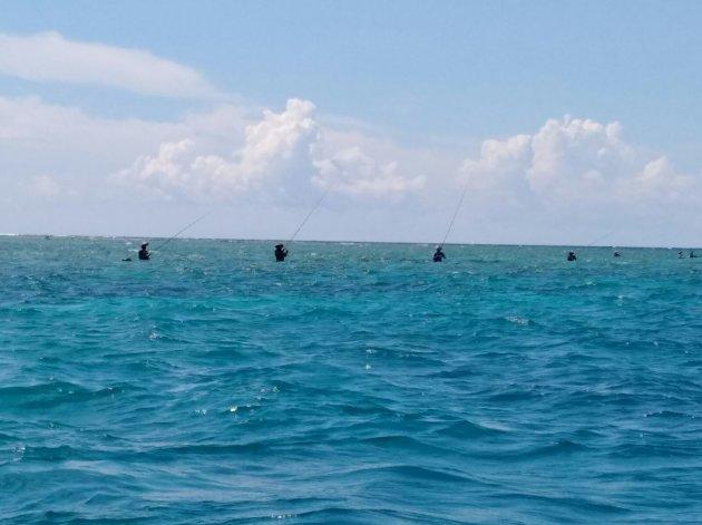 Zeven Gili vissers