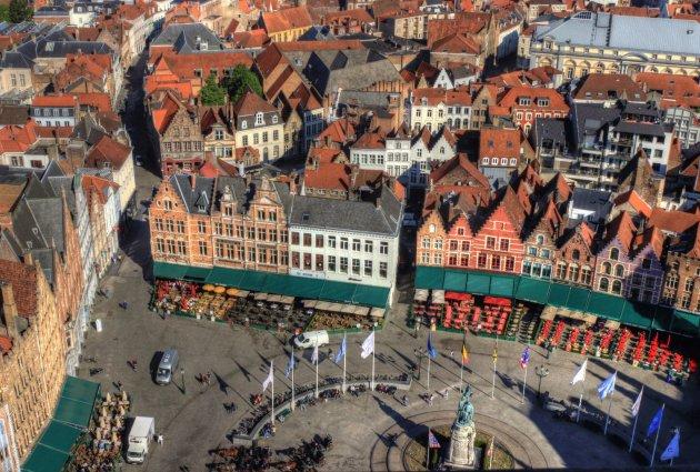 Brugge van boven