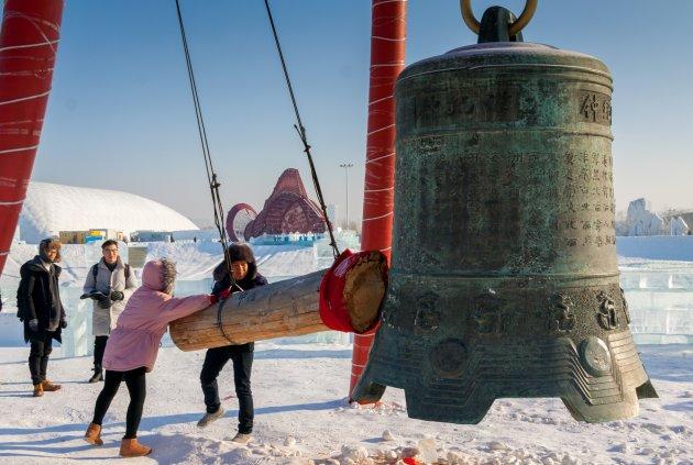 Bel luiden in Harbin