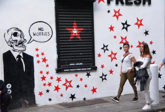 Street art in Dublin 1