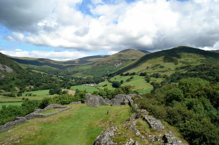 Hoofdfoto bij reisverhaal 'Castell Y Bere en de Dysynni vallei.'