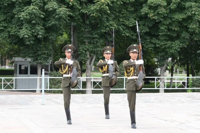 Wisseling van de wacht Bishkek
