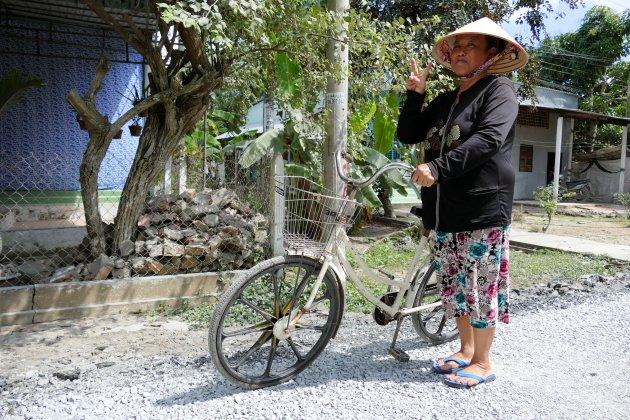 Fietsen door de Mekong Delta
