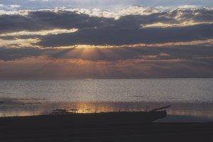 Sunset at Lochinvar
