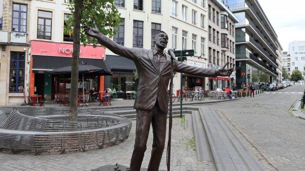 Jacques Brel heeft permanente plek op  Brussels plein