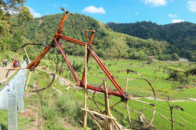 Reis per fiets