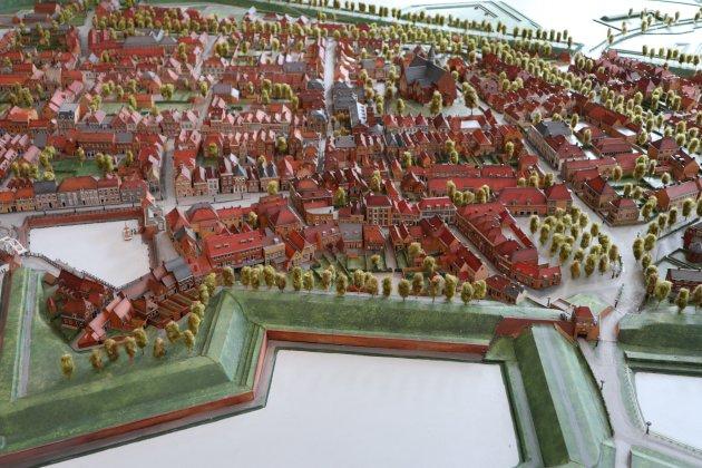 Maquette Heusden Brabants vestingstad