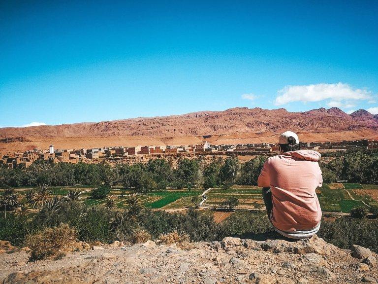 Combinatie tussen drukte en rust in Marokko