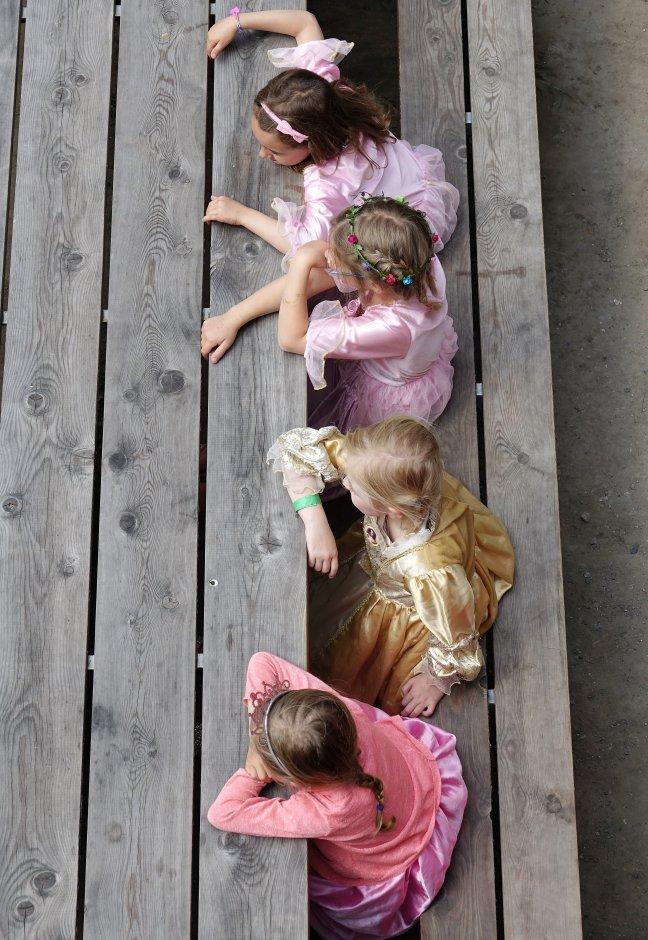 Prinsesjes van burcht Gravensteen