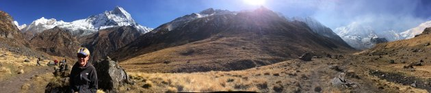 Hoogtepunt van onze sabattical: de Annapurna Sanctuary