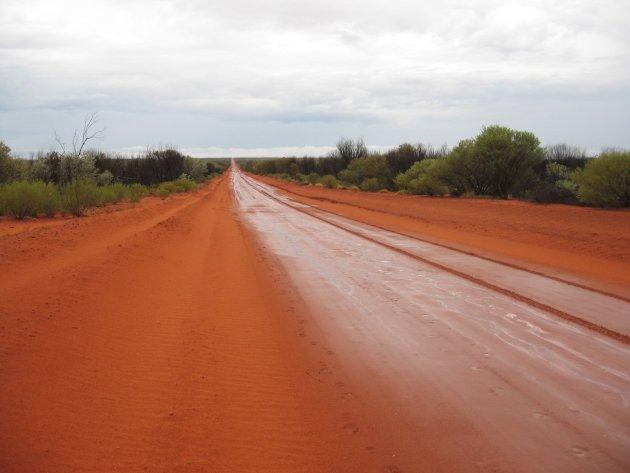 Rode weg