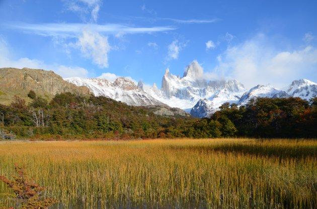De ruwe natuur in Patagonië