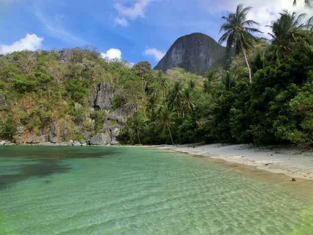 Uitgestorven paradise beach