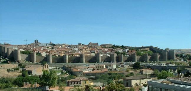Avila stadsmuren