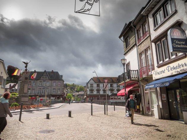 Straatje in La Roche en Ardennen