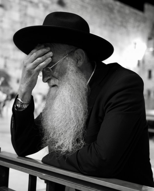 De Klaagmuur in Jeruzalem