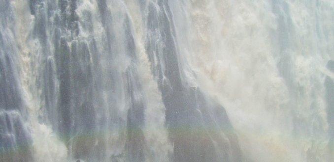Vic Falls in januari