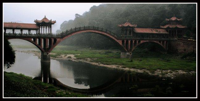 Tussen Wuyou Shan & Lingyun Shan