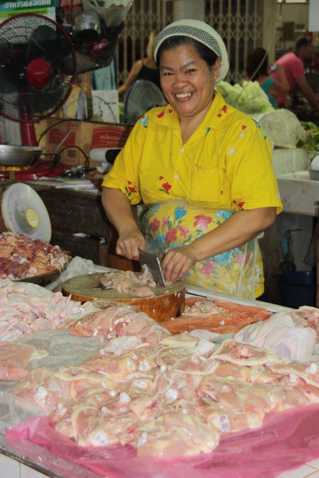 2008: Bangkok: op de markt