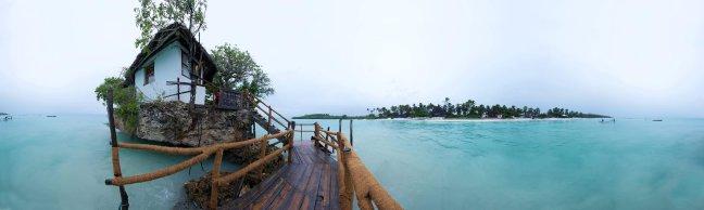 Heerlijk vis eten op een eilandje zo klein als je achtertuin; het bestaat!