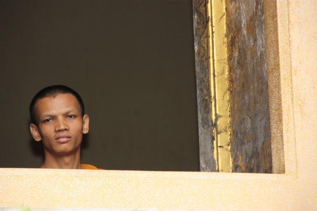 2008: Bangkok: monnik